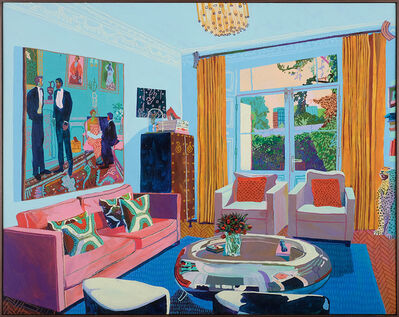 Andy Dixon, 'Patron's Home (London)', 2017