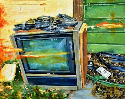 John Mulvany, 'TV/VCR', 2019