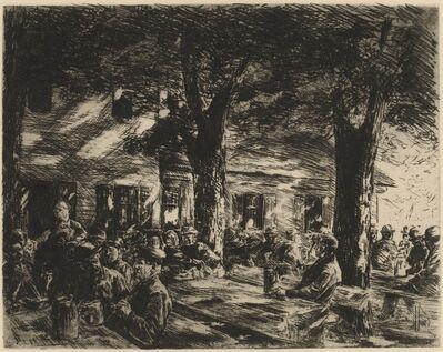 Max Liebermann, 'Kellergarten im Rosenheim', 1895