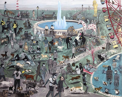 Violet Costello, 'Dog Park', 2020