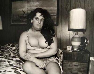 Jeffrey Silverthorne, 'Twiggy / Pochahontas', 1972-1974