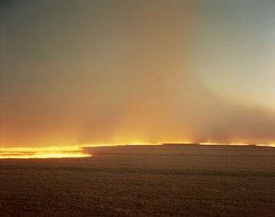 Richard Misrach, 'Desert Fire #249', 1985