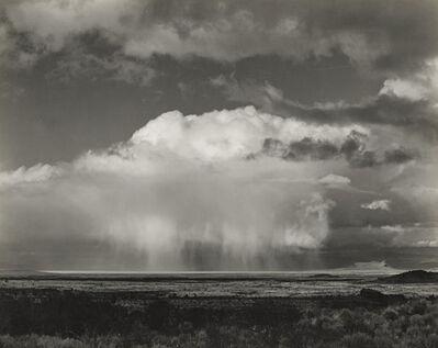 Edward Weston, 'Rain Over Modoc Lava Beds', 1937