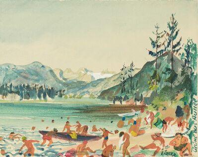 Oskar Laske, 'Greetings from Aussee', ca. 1940