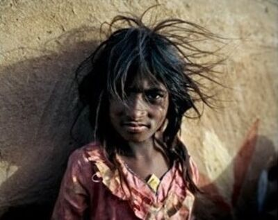 Joakim Eskildsen, 'Sapera Girl, Jaisalmer District India ', 2000