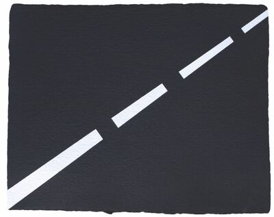 Rico Gatson, 'Hyphens in the Road', 2012