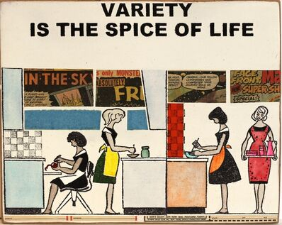 Kati Elm, 'Variety is the Spice of Life 2016', 2016