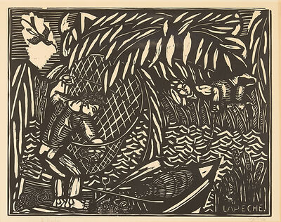 Raoul Dufy, 'Le Peche, from Quatre Bois', ca. 1910
