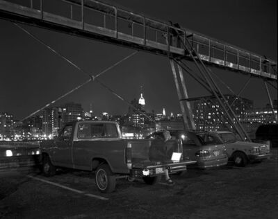 Matthew Pillsbury, 'Lois in her truck Maxie', 2009