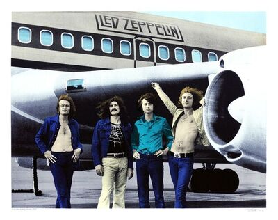 Bob Gruen, 'Led Zeppelin', 2014