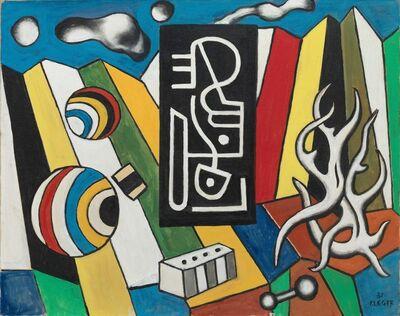 Fernand Léger, 'Objets dans l'escape (Objects in Space)', 1931