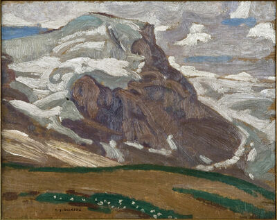 Alexander Young Jackson, 'Mountain Sketch', 1914