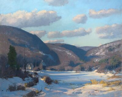 John Phillip Osborne, 'Winter at the Farm'