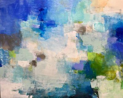 Charlotte Foust, 'Blue Watercolors', 2019