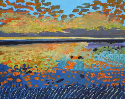 Gary Peabody, 'Sunset Over Water', 2017