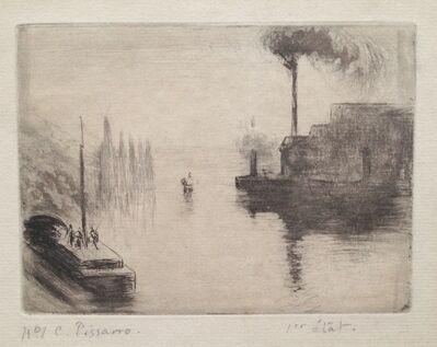 Camille Pissarro, ' L'île Lacroix, à Rouen', 1887