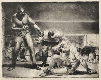 George Wesley Bellows, 'The White Hope', 1921