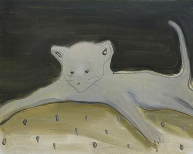Rudy Cremonini, 'White cat', 2019