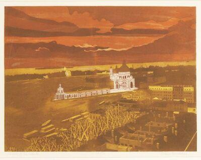 John Brunsdon, 'CHURCH OF THE SALUTE; MARKET PLACE'