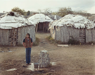 Joel Sternfeld, 'A Kickapoo Man in Eagle Pass Texas, January 1983', 1983