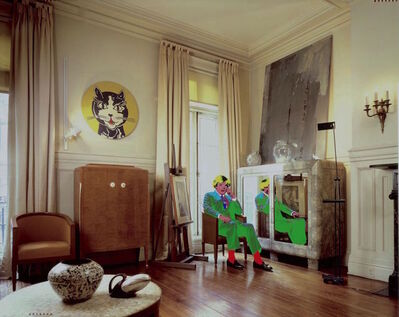 David Gamble, 'Andy Warhol's Living Room, NYC', 1987