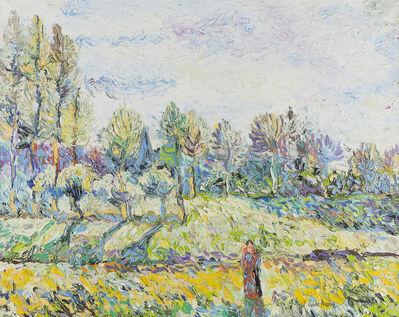 Hugues Claude Pissarro, 'Le Pre Fadette'