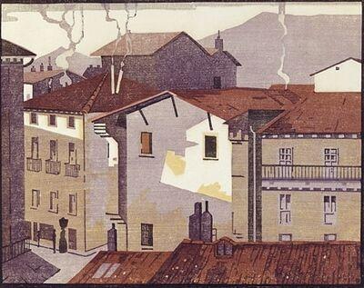 Edward Loxton Knight, 'Zarauz (near San Sebastian)', ca. 1930s.