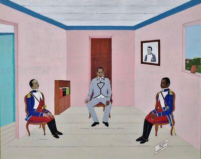 Philomé Obin, 'Un Message du general Toussaint Louverture aux généraux, Henri Christophe, J.J. Desalines', ca. 1975-1985