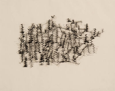 Norman W. Lewis, 'Untitled (Winter Branches)', 1950