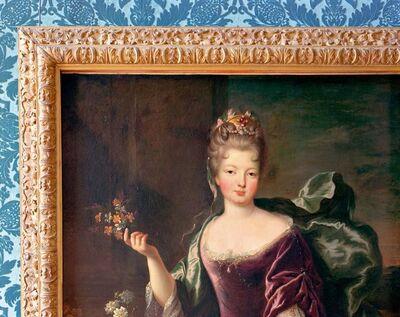 Robert Polidori, 'Anne-Louise-Benedicte de Bourbon, duchesse du Maine, MV 3702, attributed to François de Troy, circa 1700. Salle les princesses royales, (86) ANR.02.004, Salles du XVII, Aile du Nord - 1er etage, Versailles (RP.Vers.v3p033)', 2009