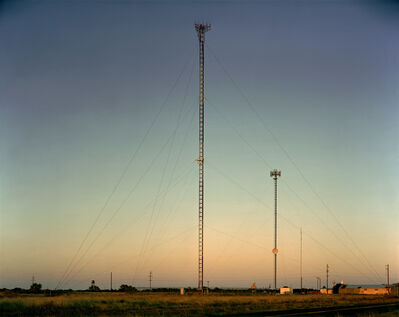 Steve Fitch, 'Radio Tower near Sudan, Texas; October 18, 2010'