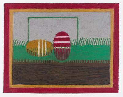 Eddie Arning, 'Untitled (Croquet Balls)'