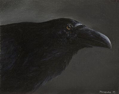 Brian Mashburn, 'Raven Study', 2019