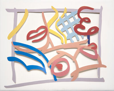 Tom Wesselmann, 'Study for Bedroom Blonde with Green Wallpaper', 1983
