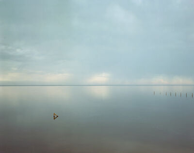 Richard Misrach, 'Salton Sea (Triangle)', 1985