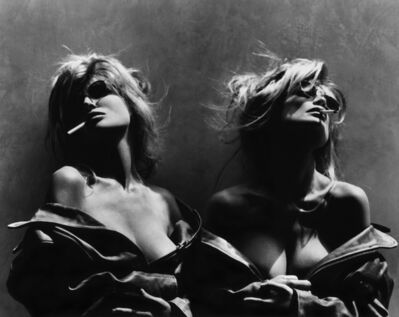 Greg Gorman, 'Barbi Twins, Los Angeles', 1992