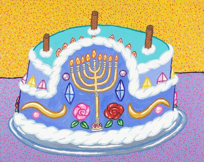Yukari Sakura, 'The Hankkah Jewish Menorah Coffee Cream Cake', 2018