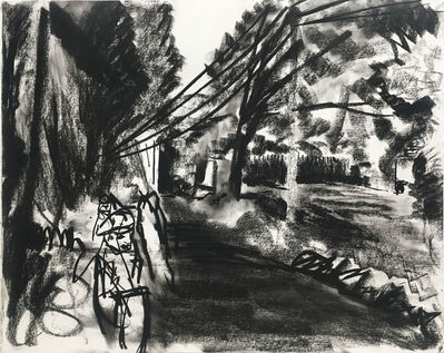 Peter Bonner, 'Riders Sippewissett Road', 2013