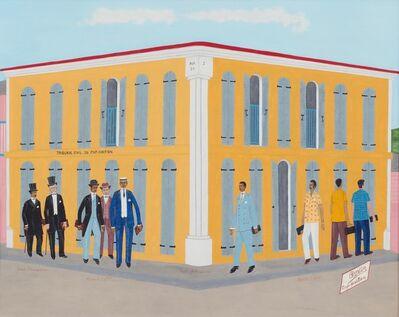Philomé Obin, ' Trois Generations (Avant L'Occupation, Pendant L'Occupation, Apres L'Occupation)', ca. 1981