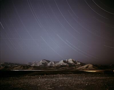 Richard Misrach, 'Night Landscape Near Nellis Air Force Base', 1999
