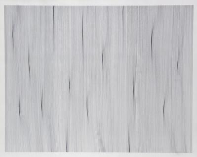 John Franzen, 'Each Line One Breath N° A 18', 2015