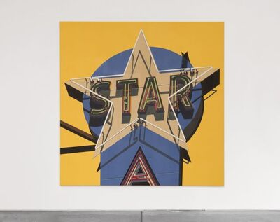 Robert Cottingham, 'Classic Star', 2009