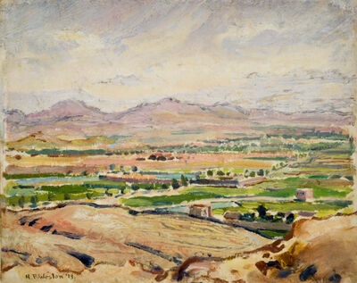 Harold Weston, 'Road to Caspian', 1919