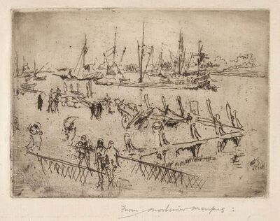 James Abbott McNeill Whistler, 'LITTLE DORDRECHT (K. 243; G. 260)', 1886