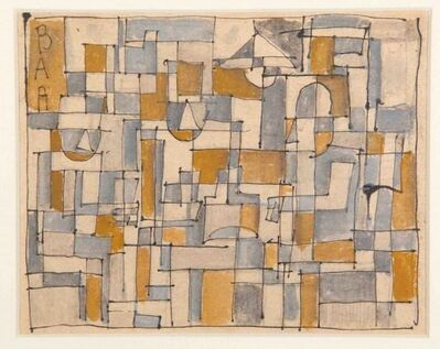José Gurvich, 'Constructivo Bar', ca. 1949