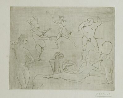 Pablo Picasso, 'La Danse Barbare (Devant Salomé et Hérode)', 1905