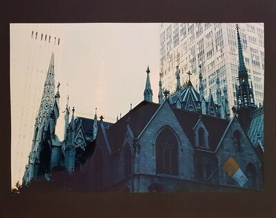 Wolff Buchholz, 'New York - St. Patrick's Cathedral', 1990