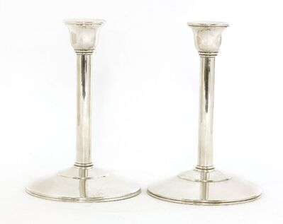 Theo Fennell, 'A pair of silver candlesticks', London 1997