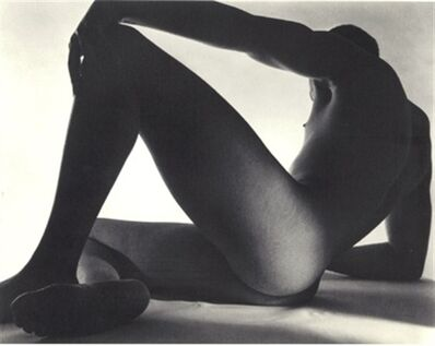 Horst P. Horst, 'Triangle Male Nude - Reclining', 1952