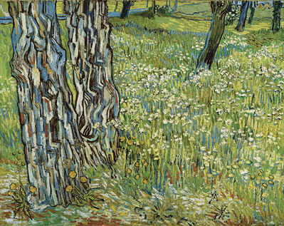 Vincent van Gogh, 'Pine Trees and Dandelions in the Garden of Saint-Paul Hospital', 1890